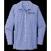 Ladies' Broadcloth Gingham Easy Care Shirt