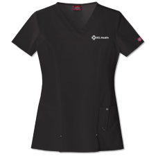 Womens Xtreme Stretch V-Neck Scrub Top