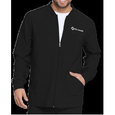 Mens Zip Front Warm-Up Jacket