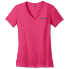 Womens Perfect Weight® V-Neck Tee