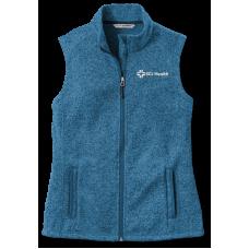 Ladies' Sweater Fleece Vest